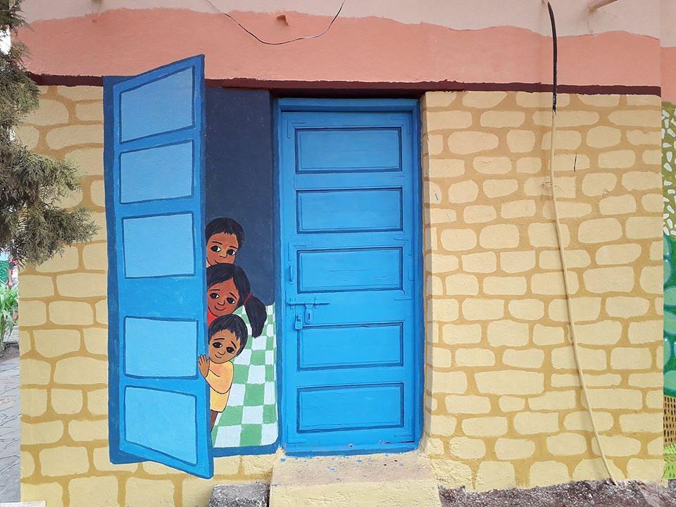 School in Chakan