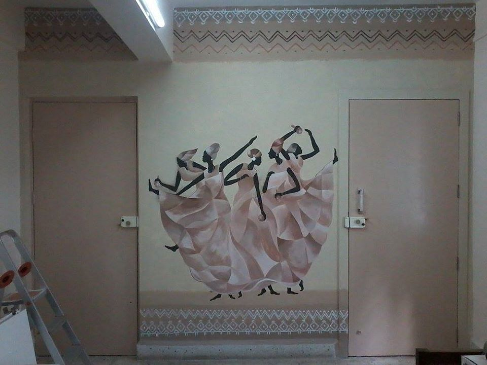 Wall painting - home interiors