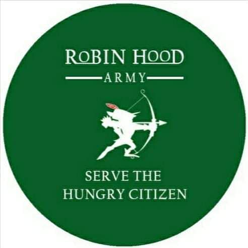 The Robin Hood Army's motto