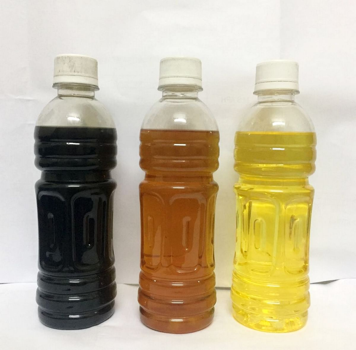 Fuel attained from Plastic waste