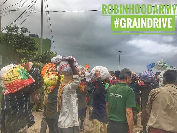 Robin Hood Army's Grain Drive
