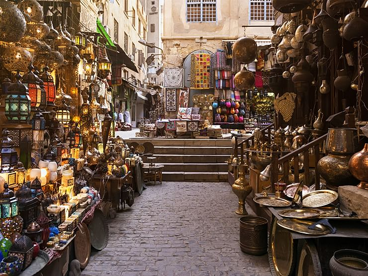 Souk in Amman