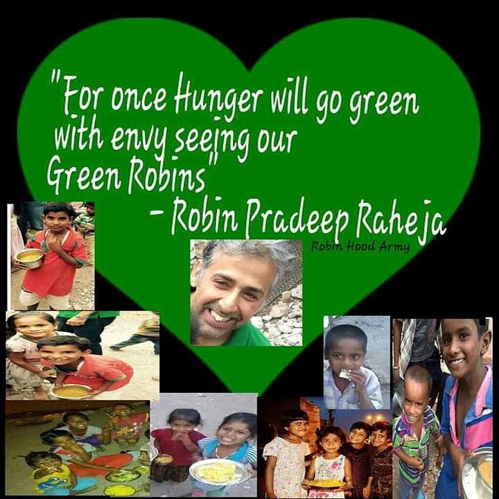 Green Heart Robin Pradeep Raheja with his children - spreading smiles
