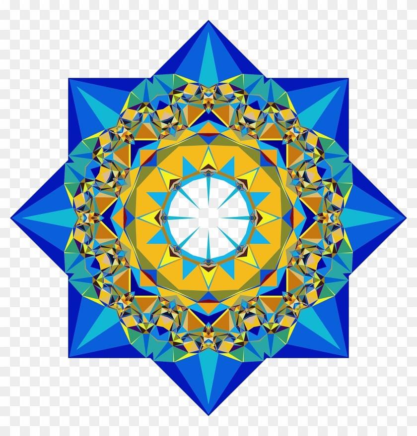 Mandala from Turkmenistan