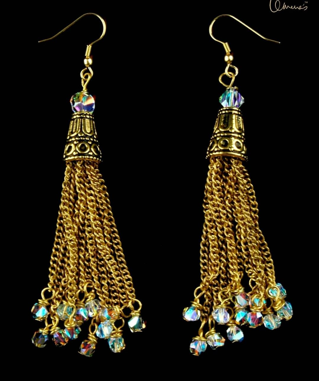 DIva-licious! Tassels made with Swarovski Crystals