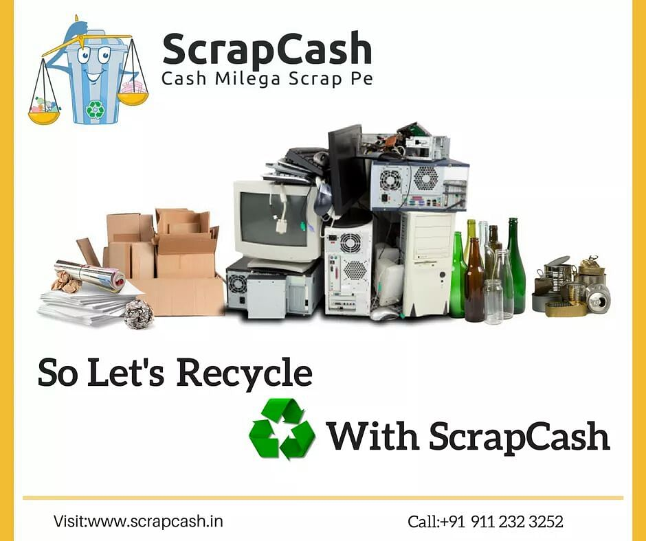 All dry waste; one recycler connect: ScrapCash
