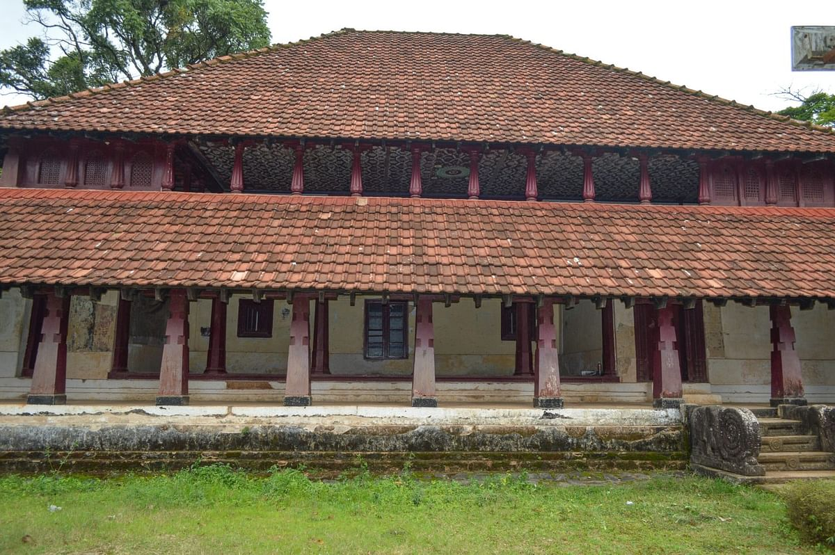 The 17th century Nalkand Aramane Palace, Coorg