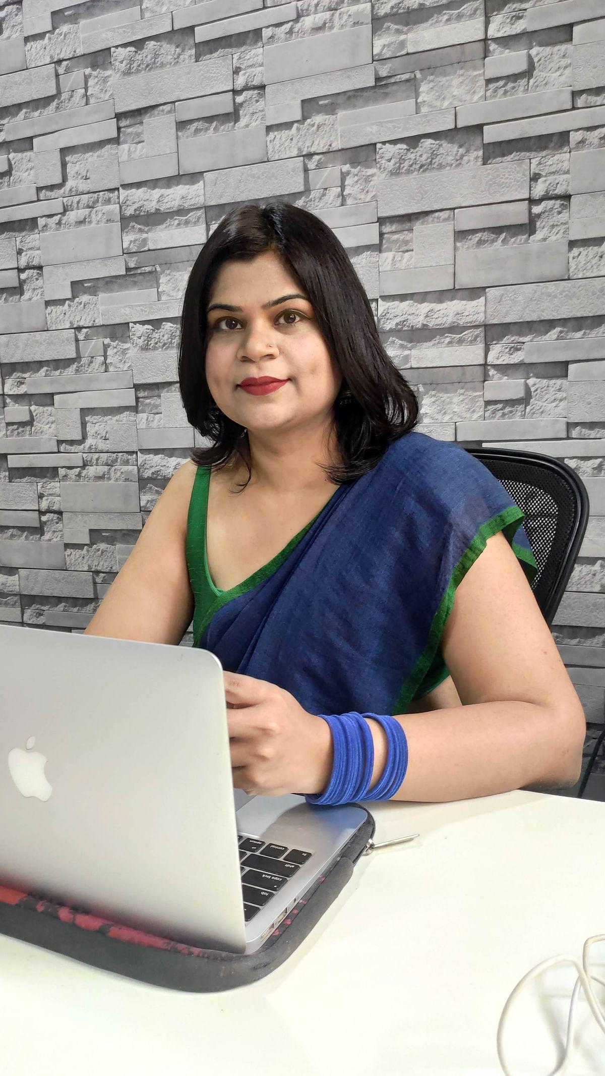 Nisha Nair, marketing maverick, brand consultant, and co-promoter of The Veg Boxxx