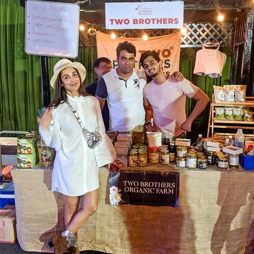 Malaika Arora - a Two Brothers Organic Farm (TBOF) customer