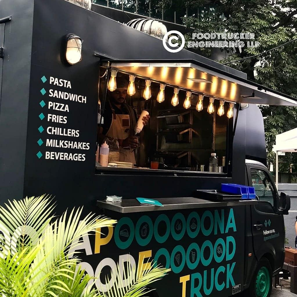 Poona Food Truck, one of Pune's renowned food trucks is crafted by Foodtrucker Engineering LLP