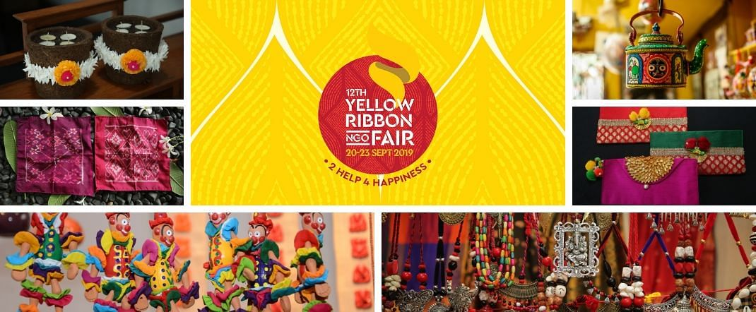 The Yellow Ribbon NGO Fair is an annual feature in October at Creaticity