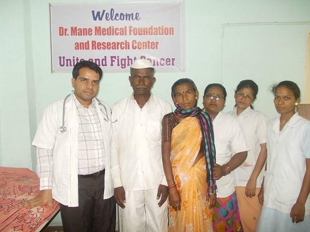 Dr Mane along with his team at the Foundation