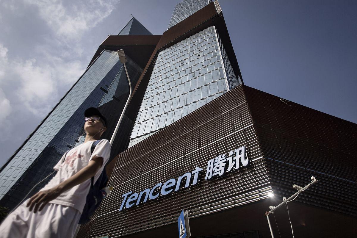 Tencent shares resist Hang Seng declines as investors weigh potential <b>coronavirus</b> impact