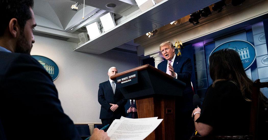 Trump Urges Coronavirus Patients to Take Unproven Drug