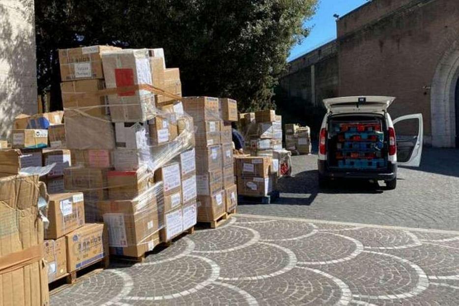 Coronavirus. In Vaticano arrivano aiuti e una lettera dalla Cina