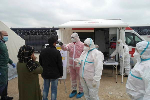 Coronavirus: containment impossible in refugee camps, Oxfam