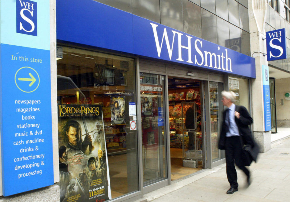 WH Smith to tap investors for up to £150m due to coronavirus outbreak
