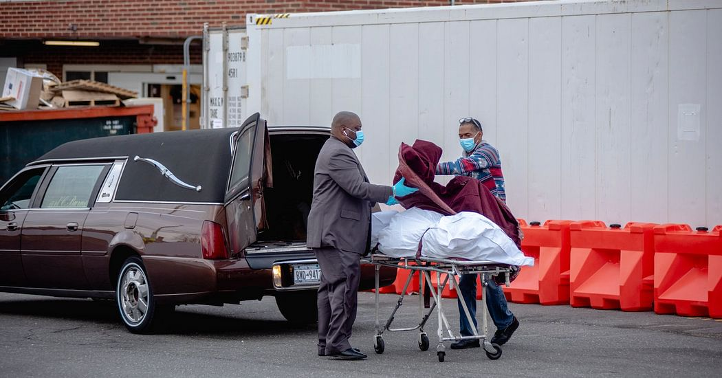 Daily Death Toll in NY Sees a One-Day Drop, Cuomo Says: Live Updates