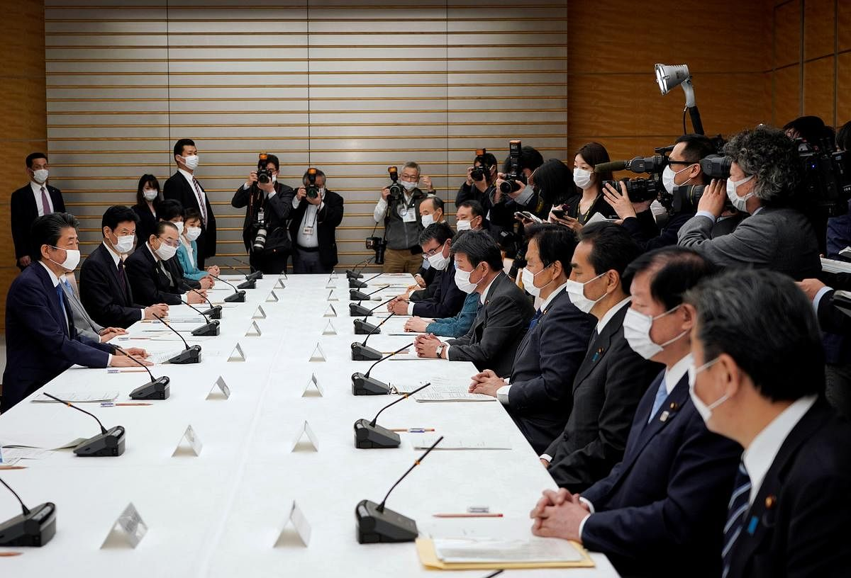 Japan to declare coronavirus emergency, launch $990 billion stimulus - PM