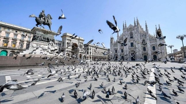 Europe sees more signs of hope as Italy's coronavirus curve falls