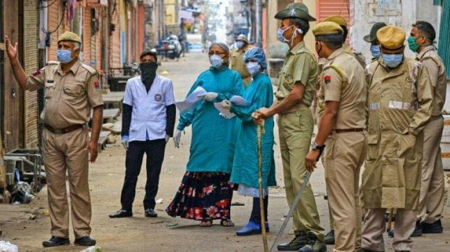 Coronavirus: Restrictions in Kashmir tightened