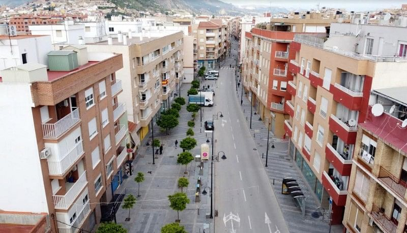 Drones help enforce lockdown restrictions in Lorca