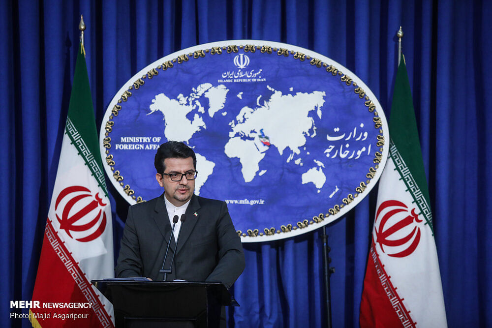 Iran's call for sanctions removal rejected due to US' bullying: MFA