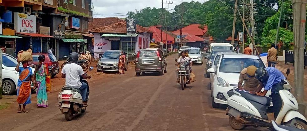 Goa: डिचोलीतील वाहतूक कोंडी नियंत्रणात