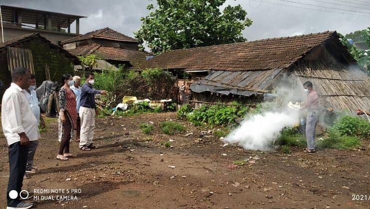 Goa: house Collapse of Sanjay Naik