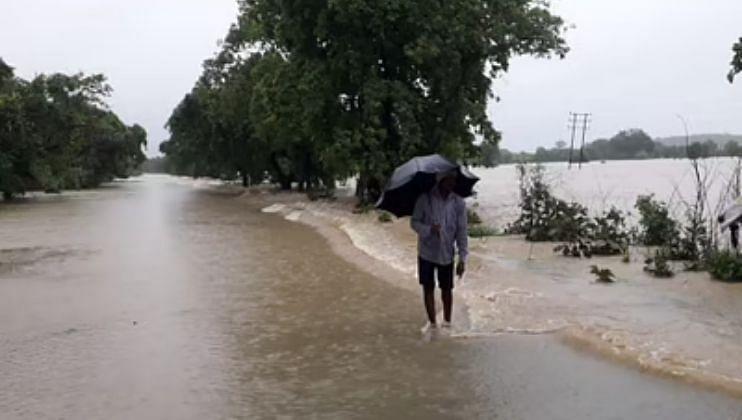 Monsoon Update:कोल्हापूर-गगनबावडा रस्त्यावरील वाहतूक ठप्प