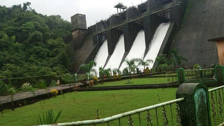 Goa: अंजुणे धरणातून पाण्याच्या विसर्गाला सुरुवात; चारही दरवाजे खुले