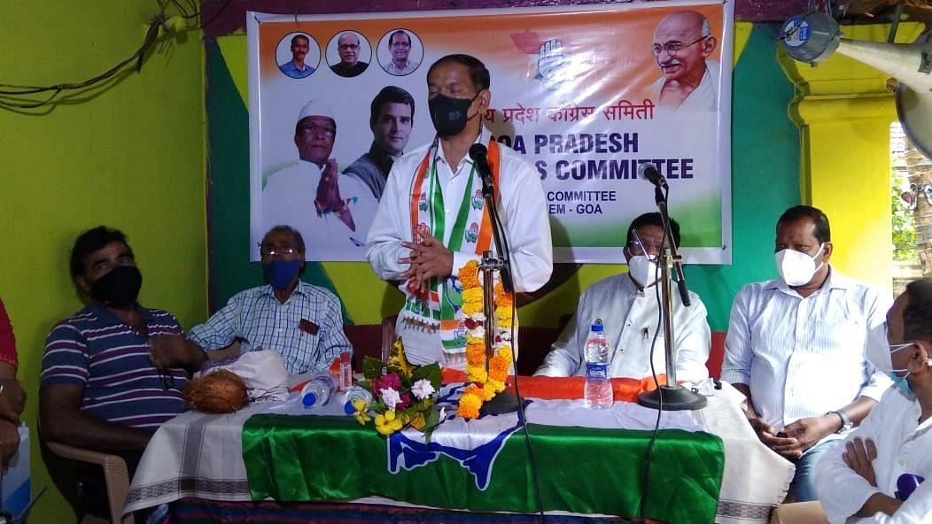 Goa: पेडणे मतदार संघात काँग्रेसचा उमेदवार निवडून आणूया : गिरीश चोडणकर