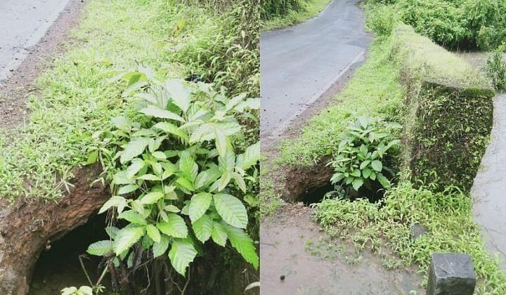 Goa: पावसामुळे केळावडे पुलाचा रस्ता खचला, त्वरित दुरुस्तीची मागणी