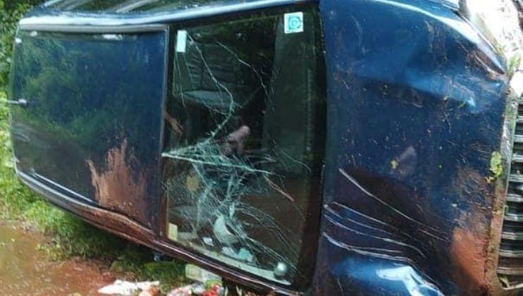 Goa: अभिजात पर्रीकर यांच्या गाडीला अपघात