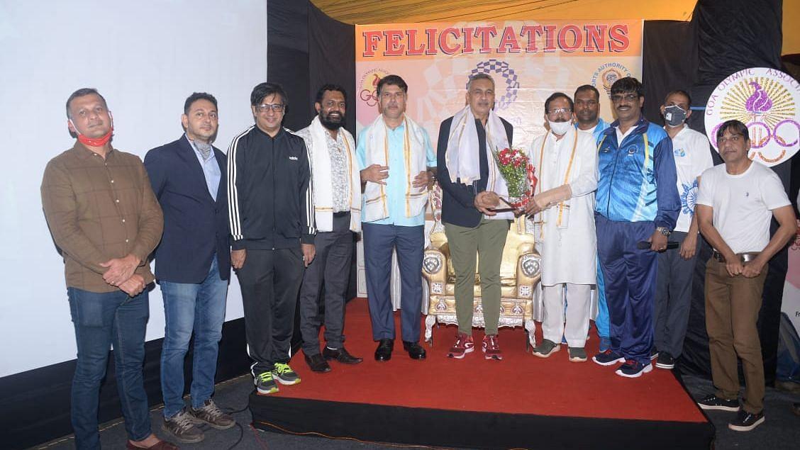 Tokyo Olympic: North Goa Felicitation of Athletics felicitees