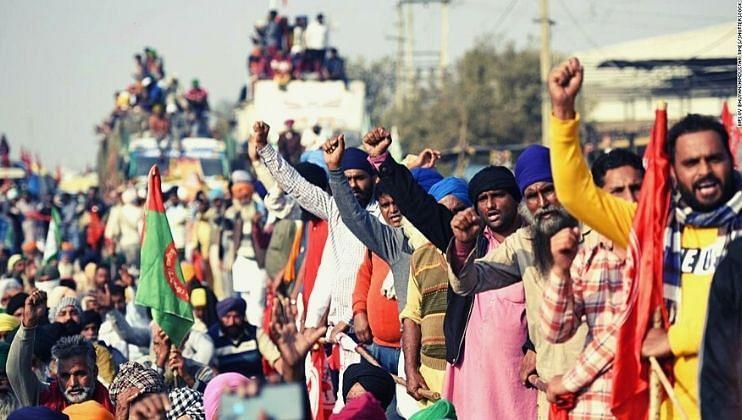 दिल्लीत आज शेतकऱ्यांची संसदेबाहेर 'शेतकरी सांसद'