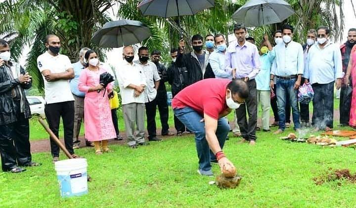 Goa: पर्ये सत्तरीत जलकुंभाचे भूमीपूजन