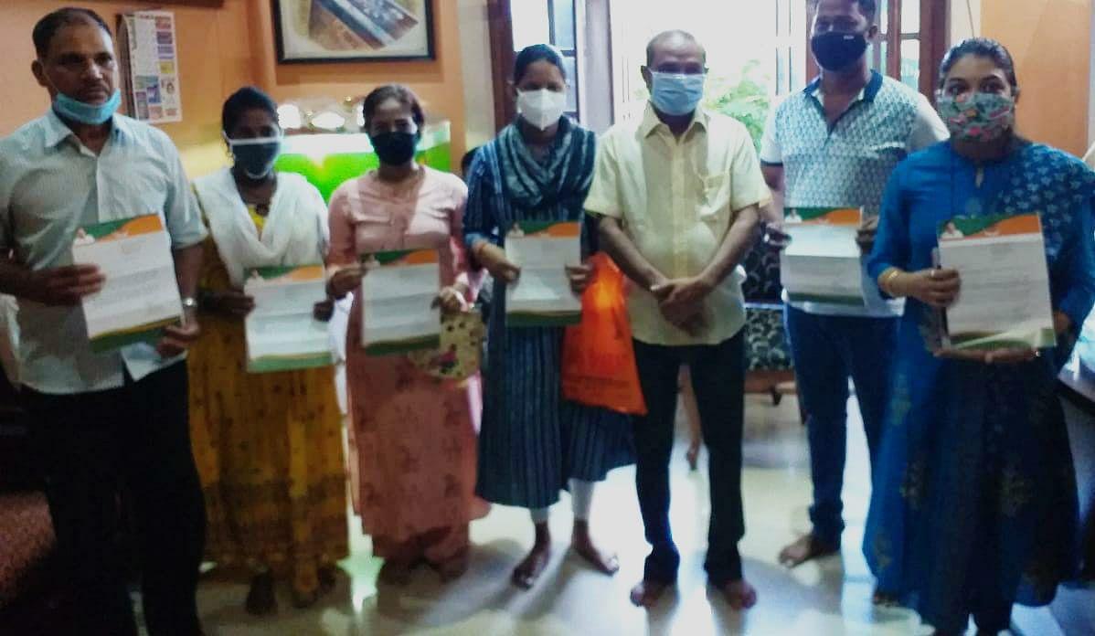 Ladli Lakshmi acceptance letter in Goa