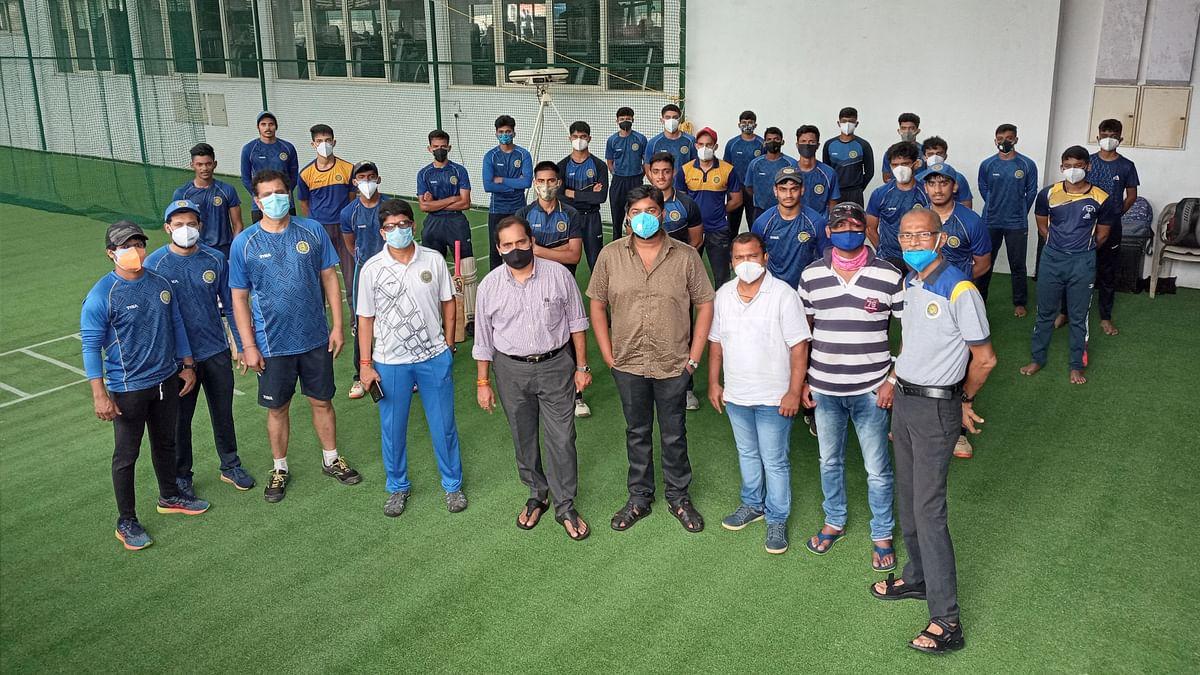 Goa Cricket: क्रिकेटपटूंच्या आरोग्य सुरक्षेसाठी कटिबद्ध ः लोटलीकर