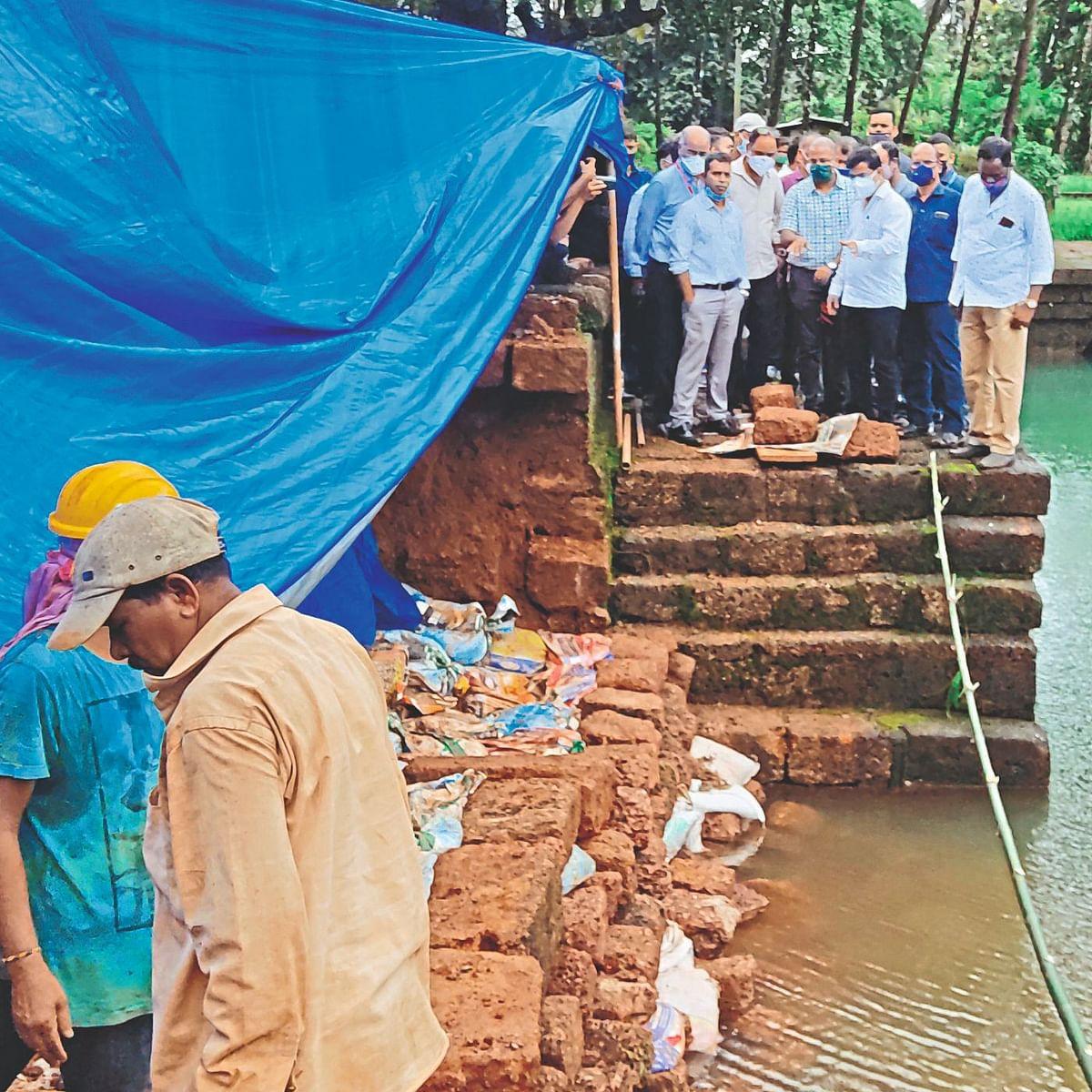 Goa: साफा मशीद कामाची बाबू कवळेकरांकडून पाहणी