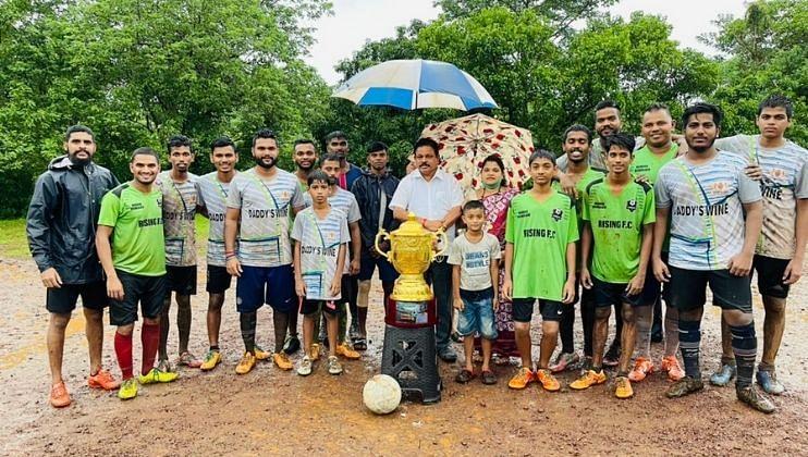 Goa: स्व.दिगंबर रामा नाईक स्मृती चषकावर 'Rising FC' संघाने कोरले नाव
