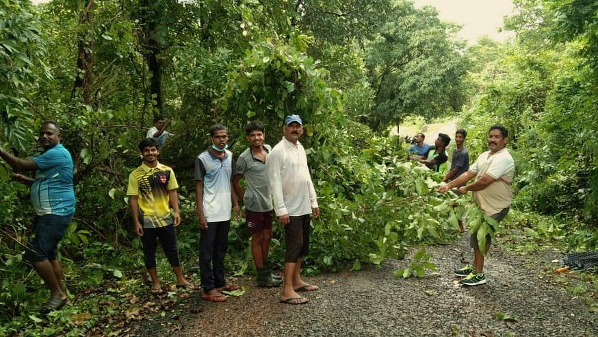 Goa: सालेलीतील युवकांनी श्रमदानाने केली रस्त्यांची साफ सफाई