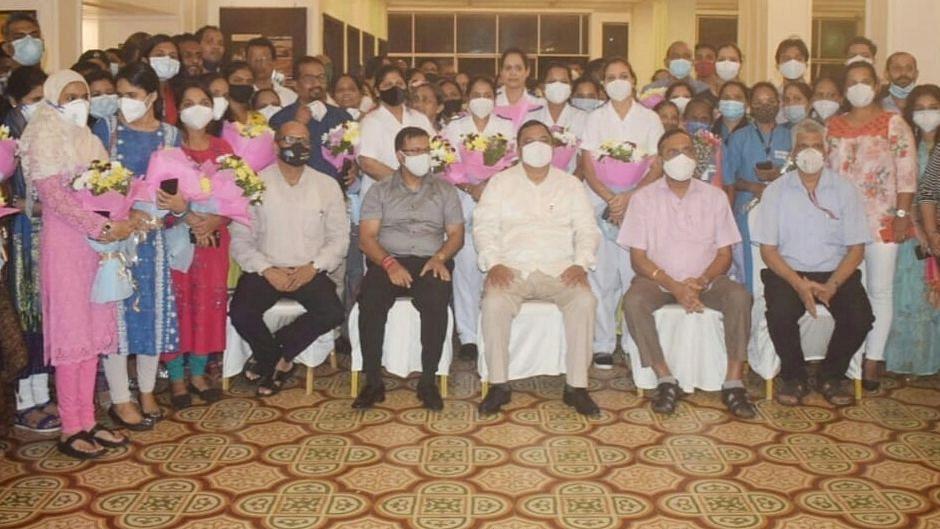 Goa: डॉक्टर्स, आरोग्य कर्मचाऱ्यांना सरकार न्याय दईल