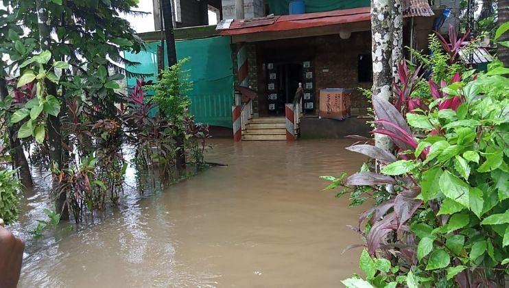 Goa Floods: शापोरा, तेरेखोल नदीला पूर; बागायती शेतीचे नुकसान