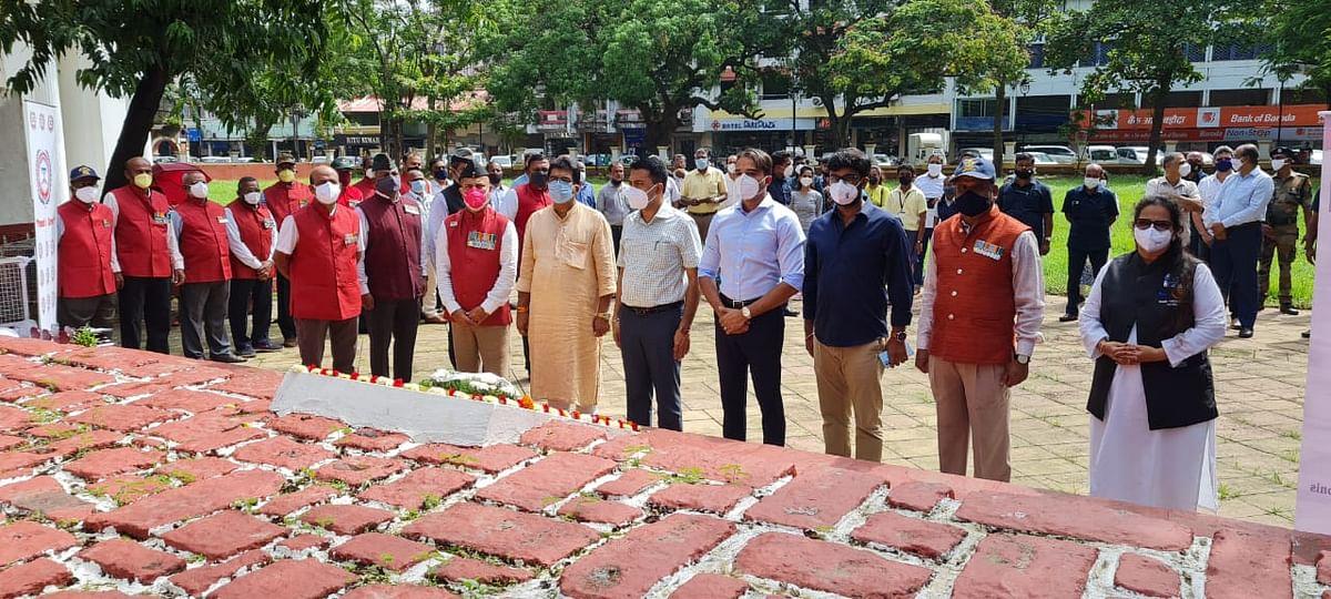 Goa: Vishwanath Swar inaugurating the program