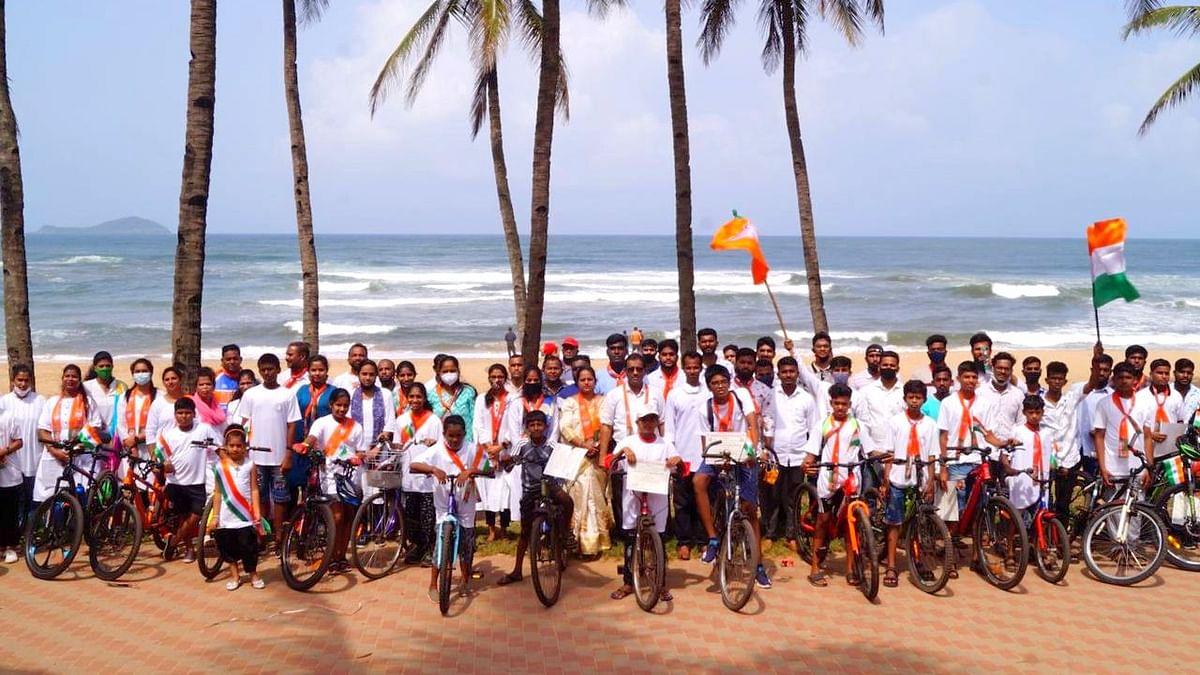 Praveen Kochrekar as the Deputy Panch of Oshel Panchayat (Goa)