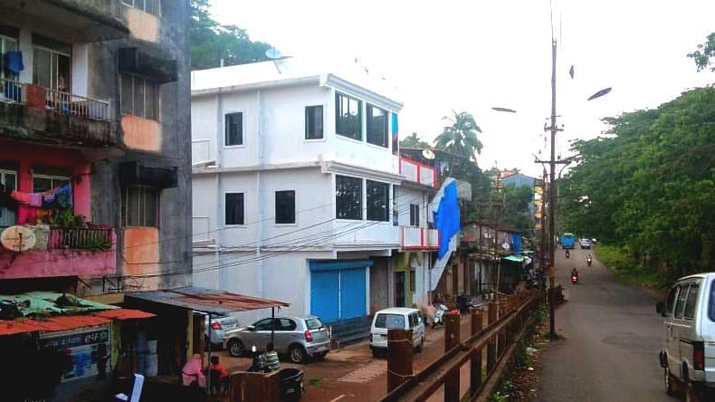 Goa: Traffic Jam In Karaswada.