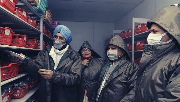केंद्रीय कृषी आणि शेतकरी कल्याण मंत्री नरेंद्र सिंह तोमर
