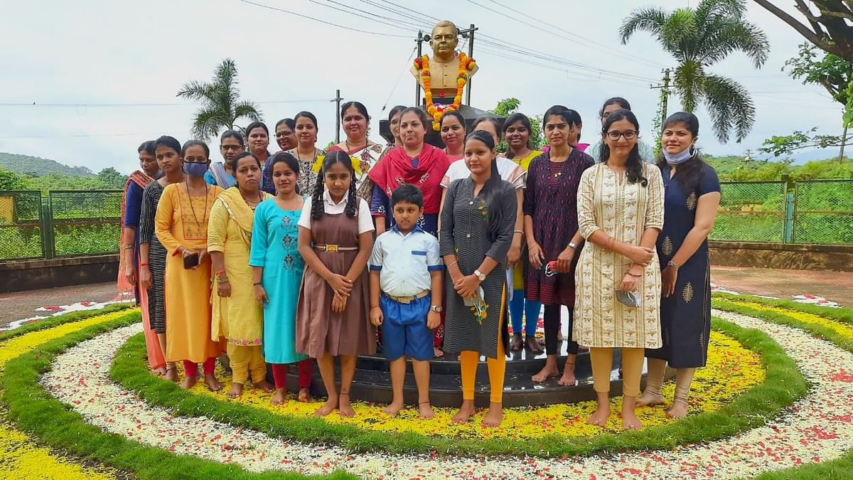 Goa: वेळगे शैक्षणिक संस्थेत भाऊसाहेबांची पुण्यतिथी साजरी