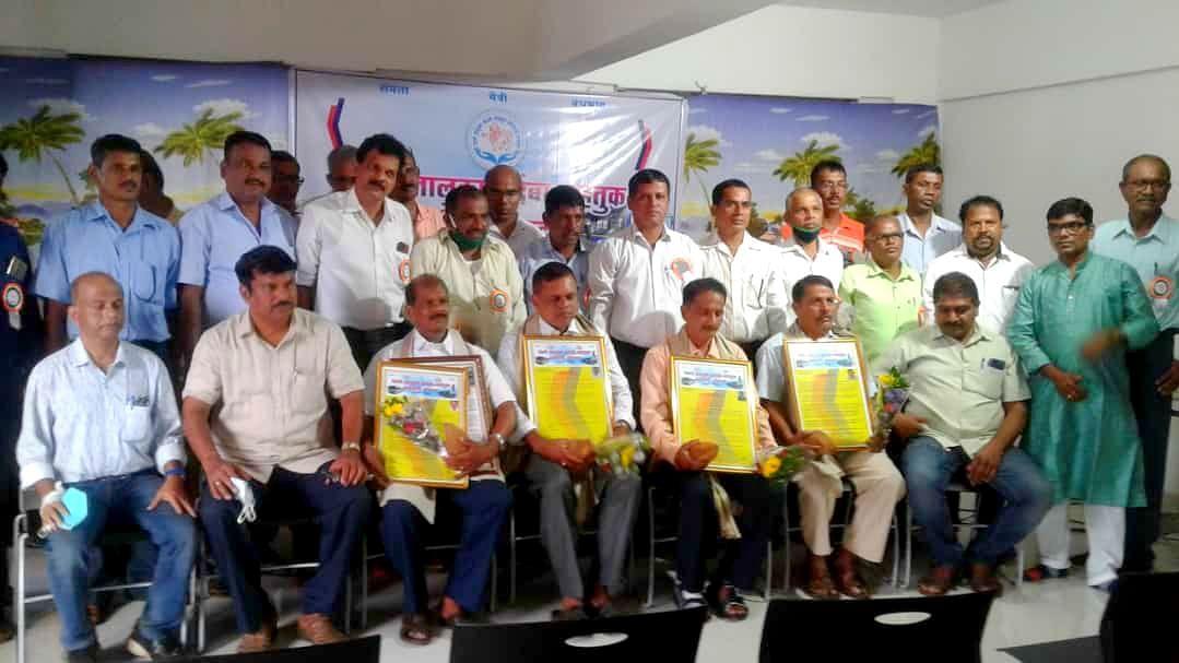 Goa KTC: पेडणे कदंबा वाहतूक कर्मचारी संघटनेतर्फे कर्मचाऱ्यांचा सत्कार